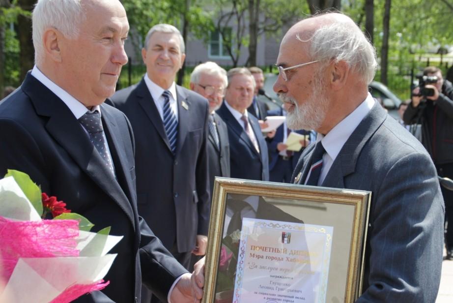 Хабаровск отметит юбилей настоящего полковника