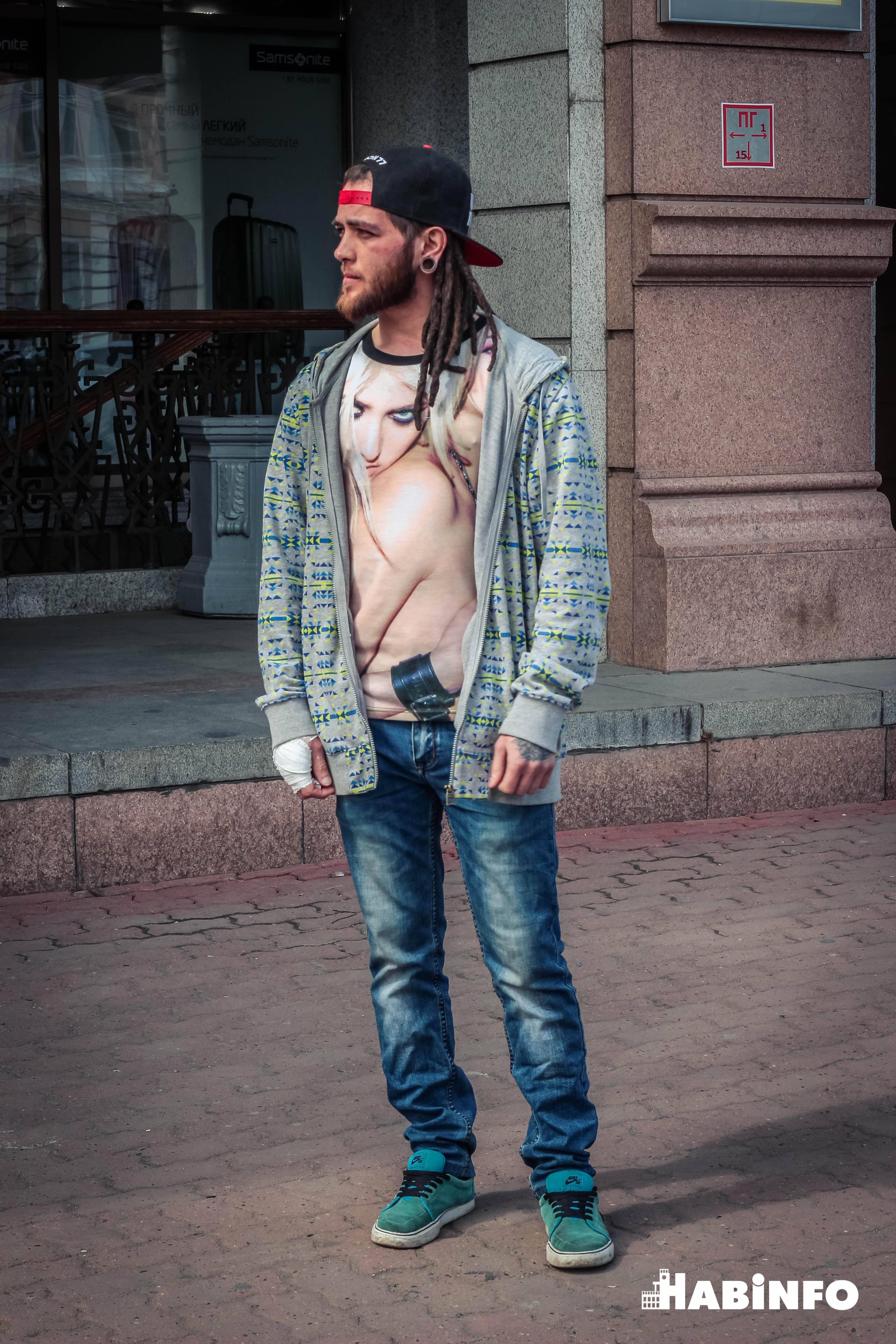 Пять интересных образов хабаровских модников по версии habinfo.ru (ФОТО)