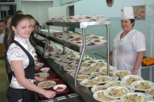 школы питанием хабаровску