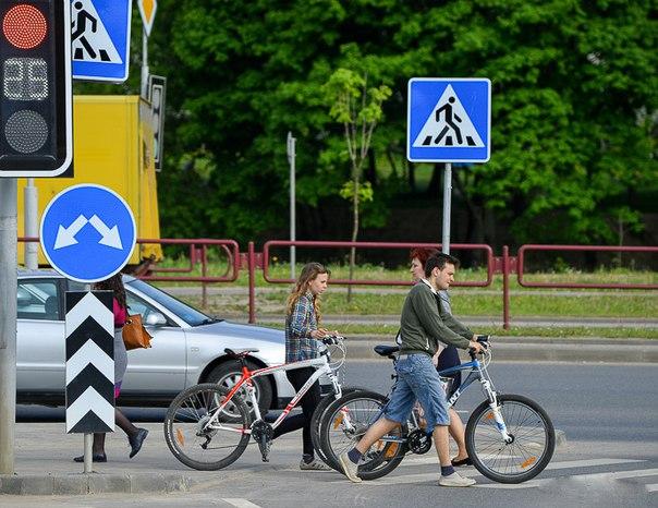 Пьяный велосипедист устороил аварию в Хабаровске
