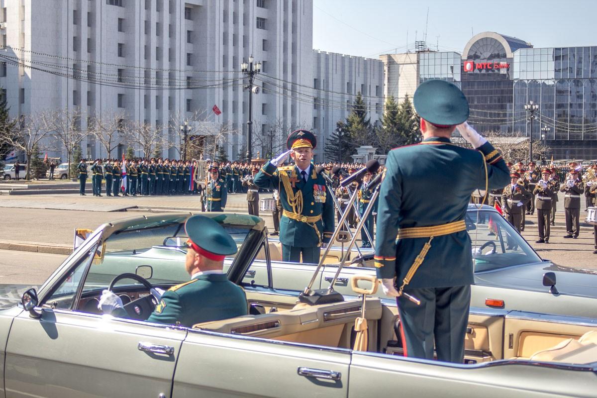Парад Победы прошёл в дальневосточной столице