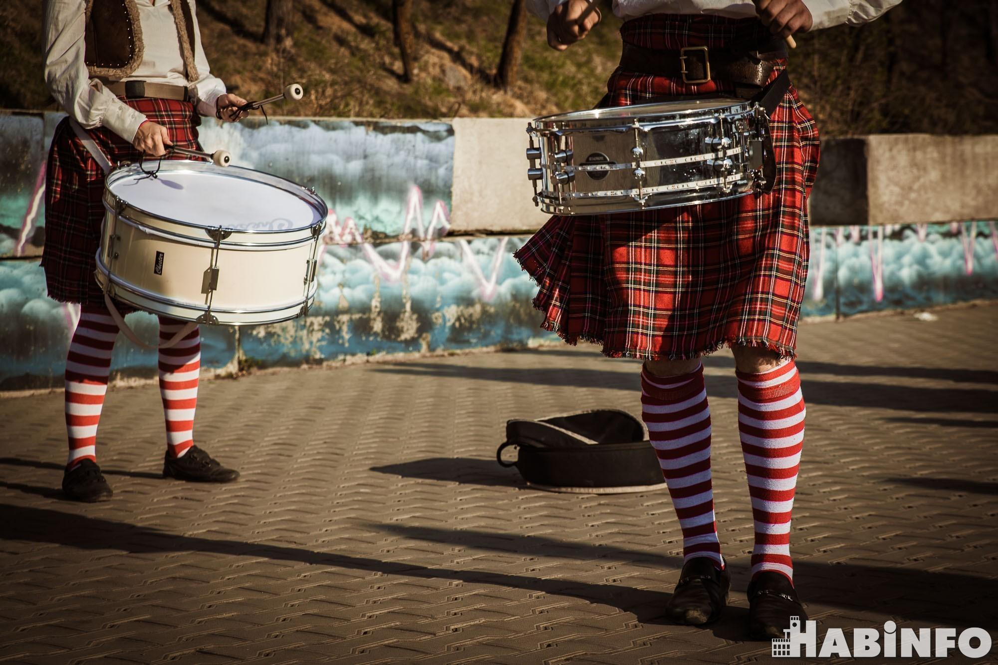 Уголок Шотландии появился на хабаровской набережной