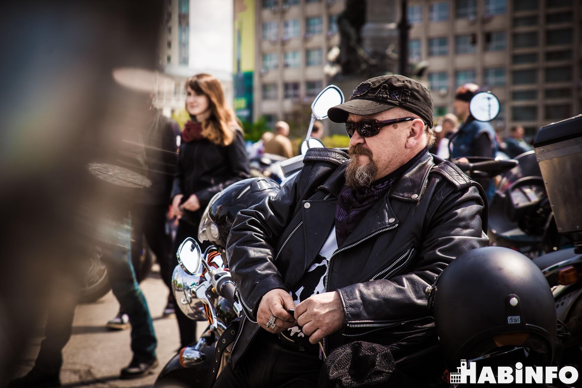 Хабаровские байкеры открыли сезон