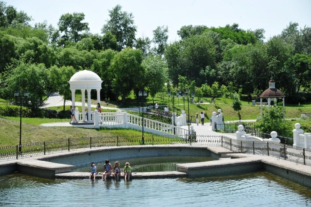 хабаровск 159 лет парк северный