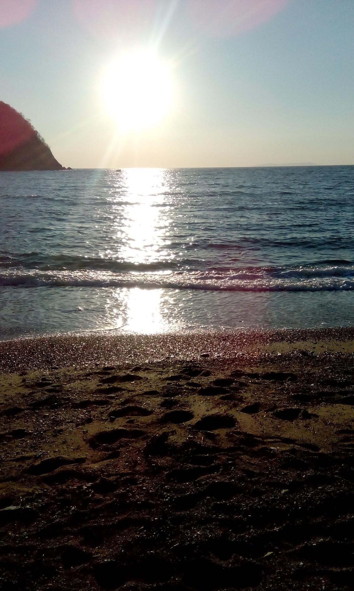 Путешествуем по Приморью: пляж Рица