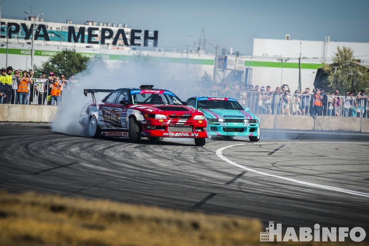 Хабаровский дрифтер Егор Шумилкин отстоял честь родного города