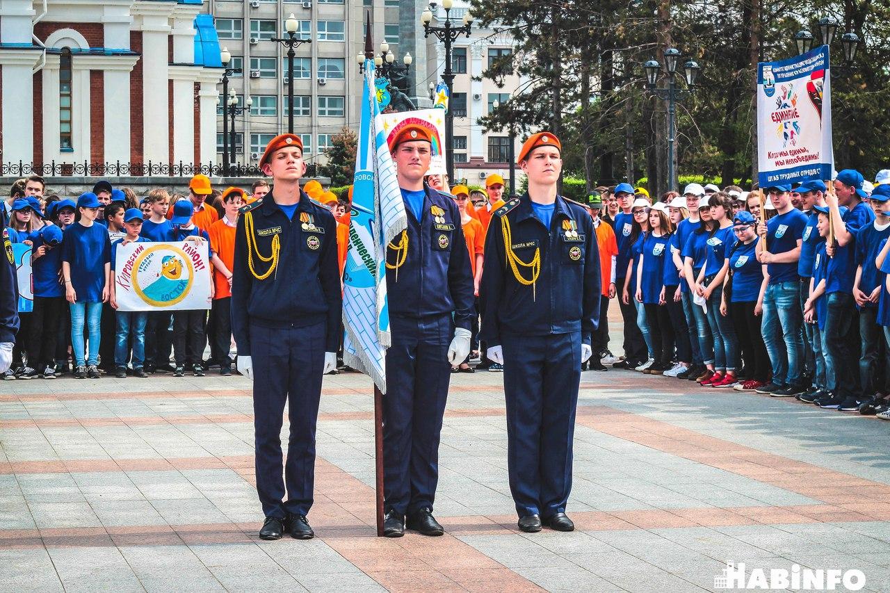 Летний сезон трудовых отрядов стартовал в Хабаровске
