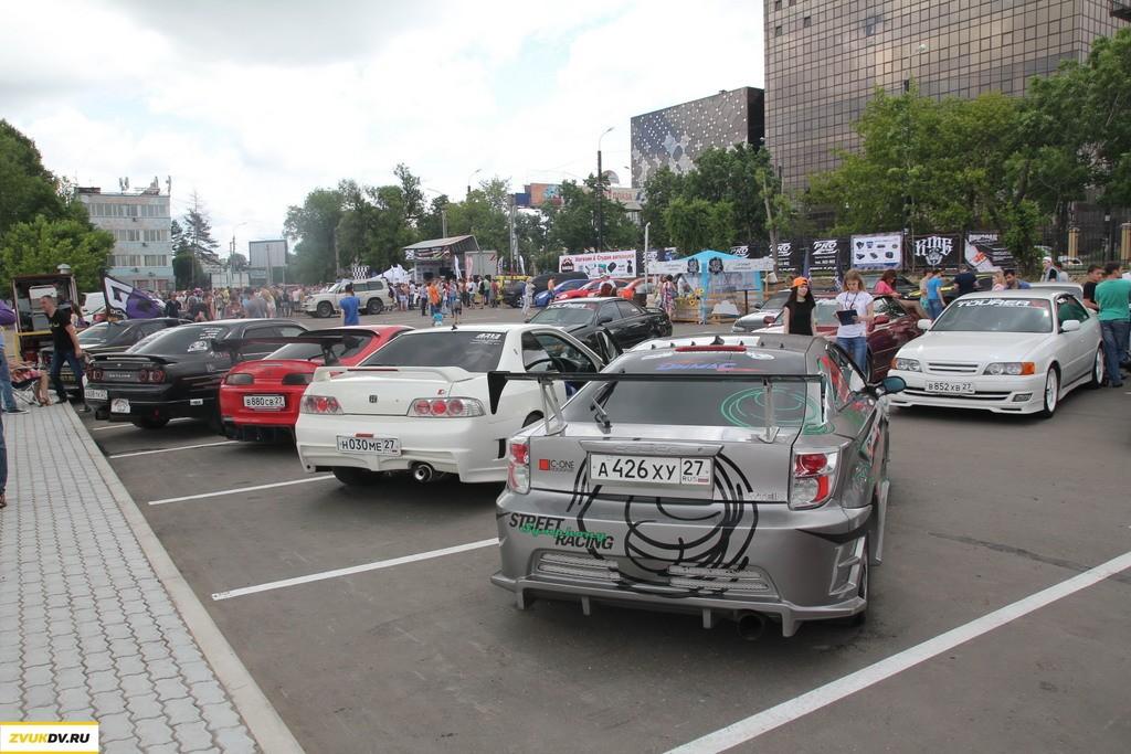 Праздник автоспорта на Ерофее: дрифт, тюнинг, автозвук