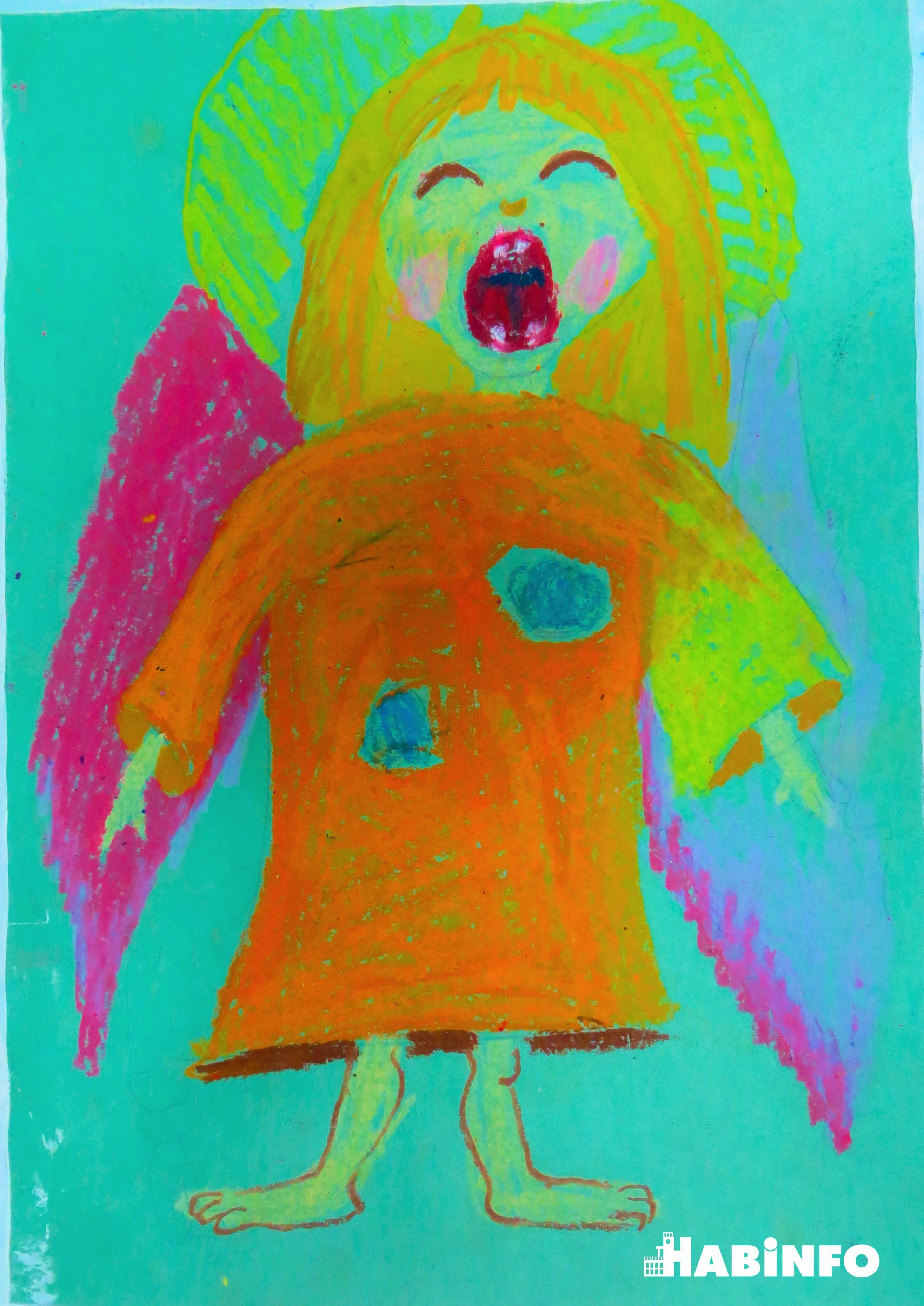 """Маленькая звездочка: юный художник Иван Ломкин рисует """"живые"""" картины"""