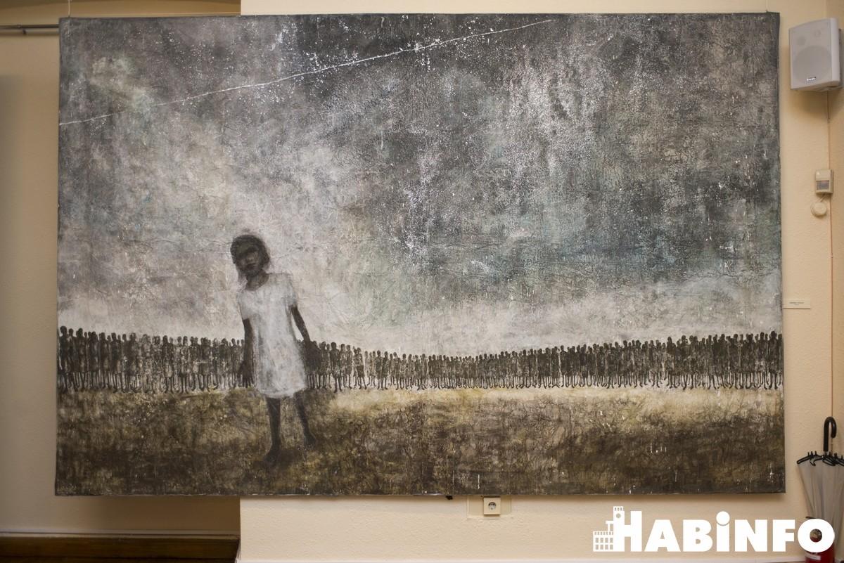 Японский художник открыл душу хабаровским любителям искусства
