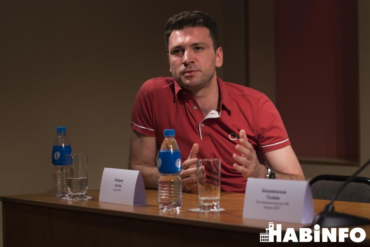Сергей Безруков привёз в Хабаровск три спектакля Московского Губернского театра (ФОТО)