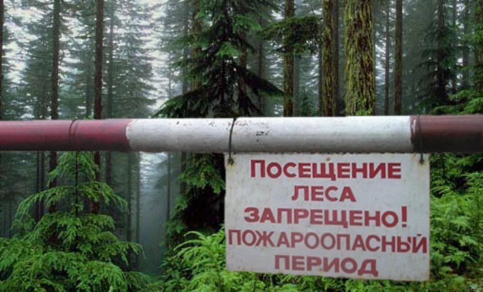 Внимание, особый противопожарный режим на территории города