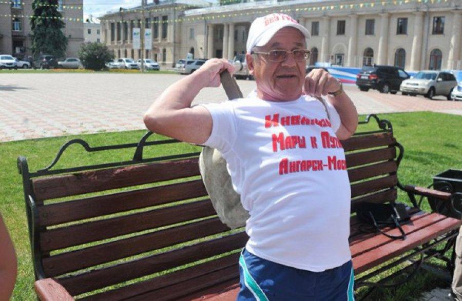 Ангарский инвалид-путешественник решил доплыть по Амуру до Тихого океана