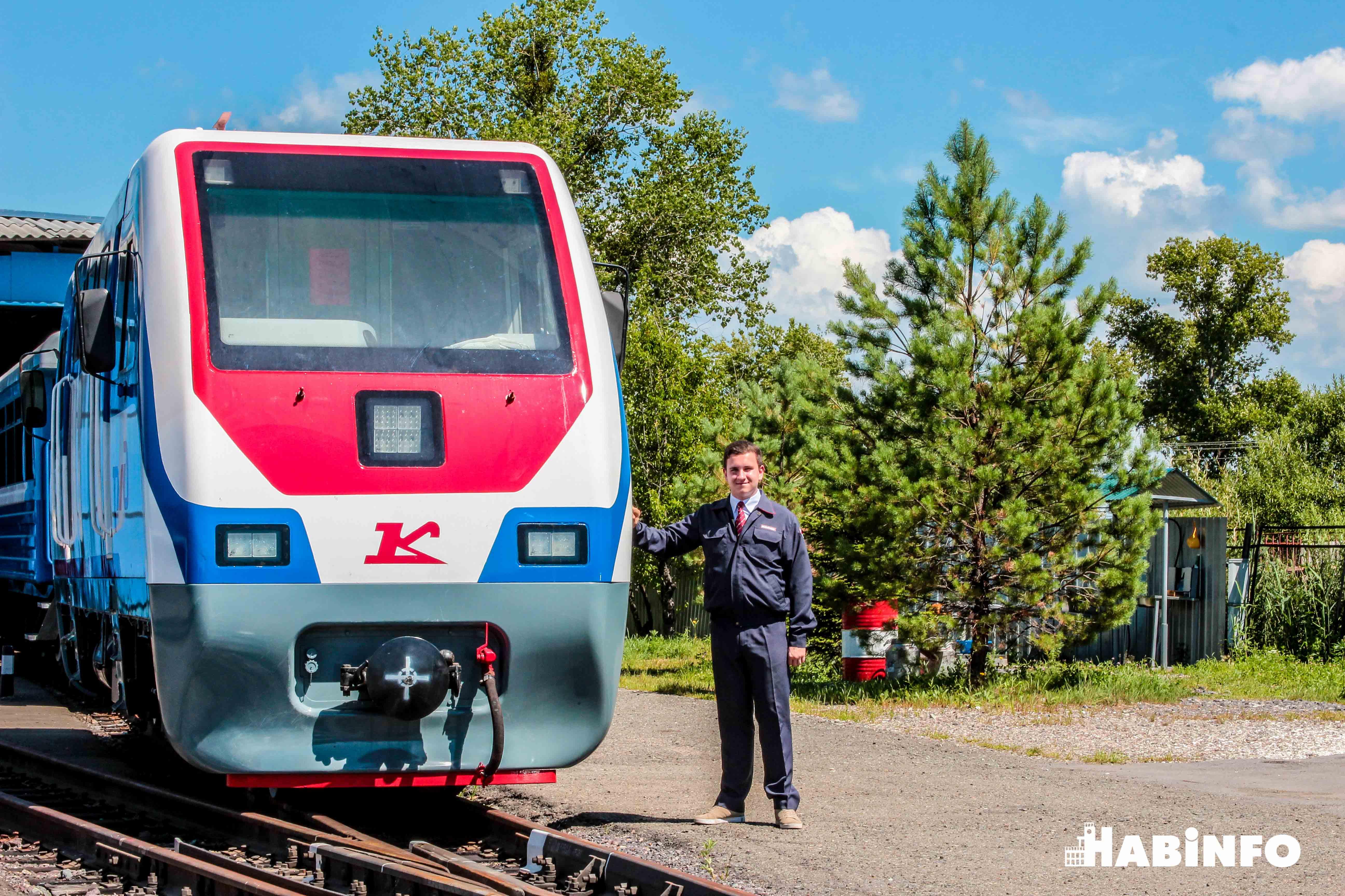 детская железная дорога фото