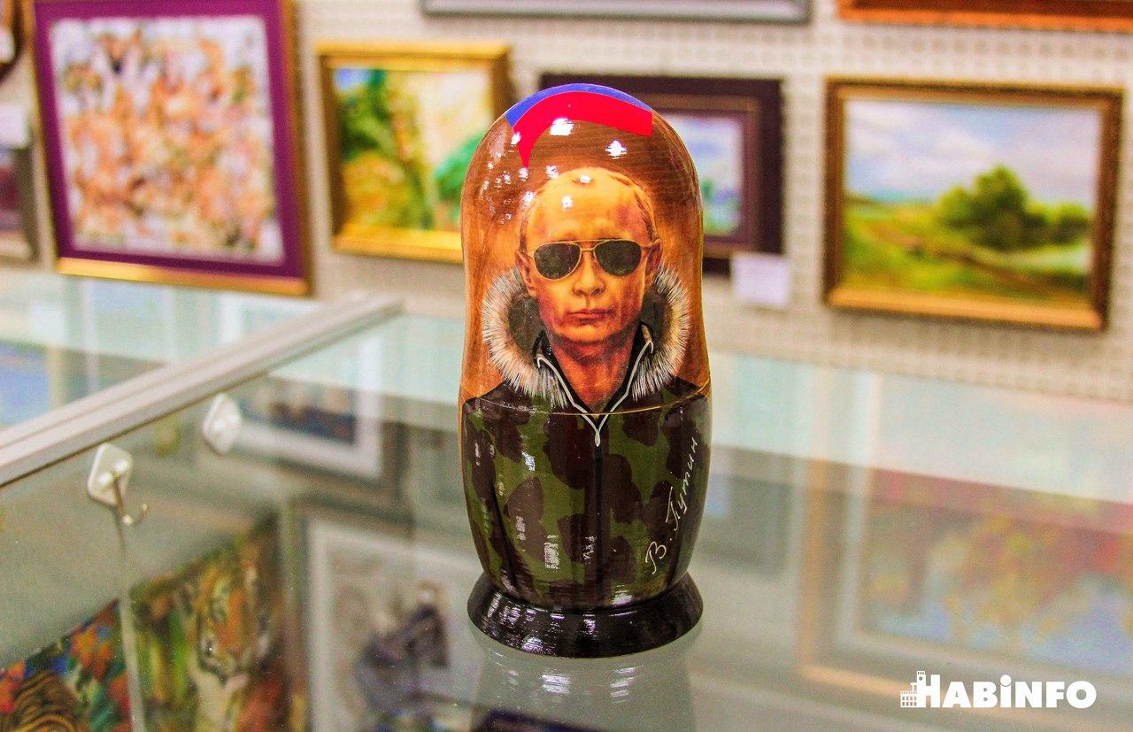 Матрешки с Путиным и целебный янтарь: что иностранцы увозят из Хабаровска