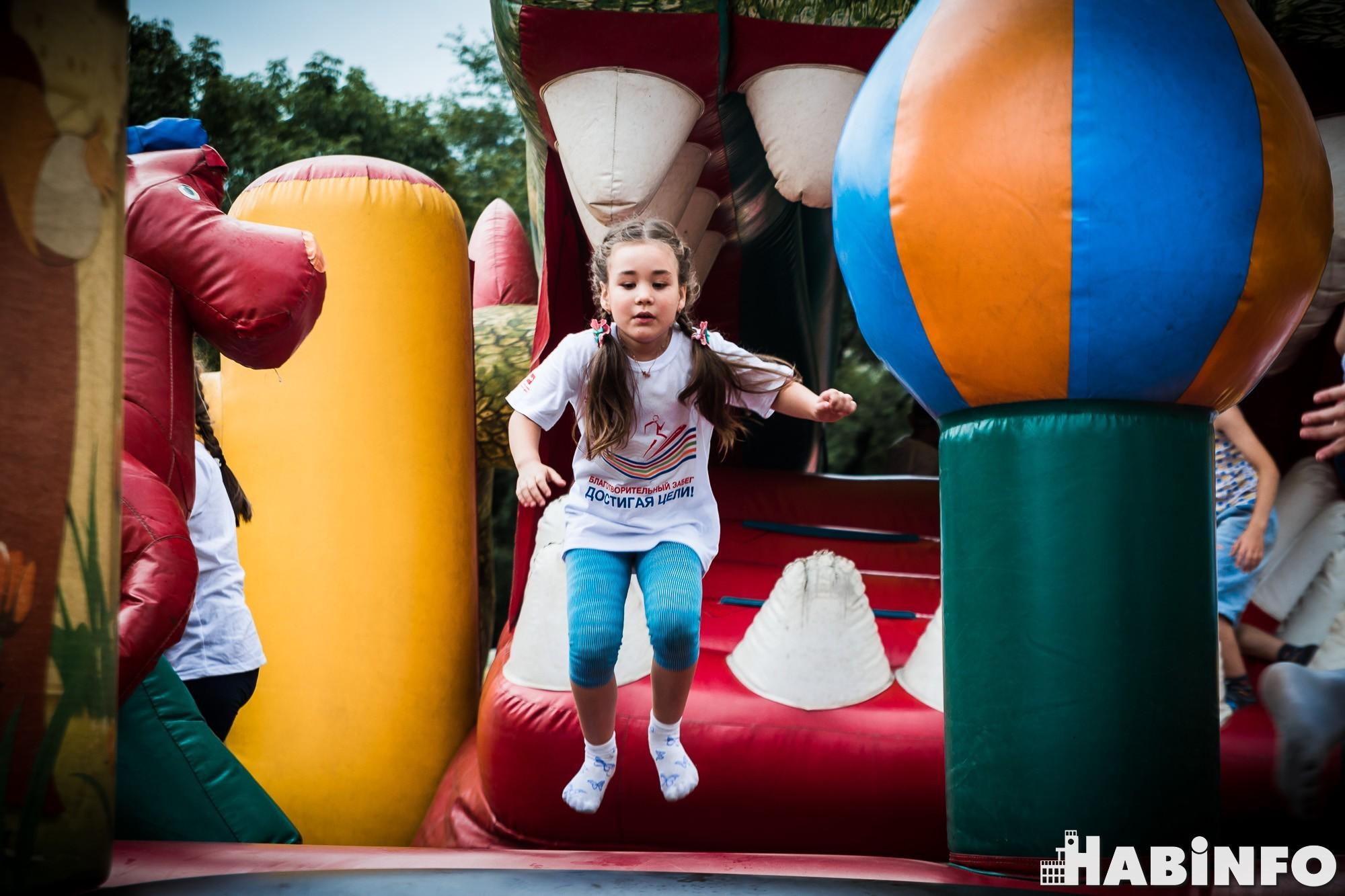 Хабаровские железнодорожники вышли на массовый забег, чтобы помочь онкобольным детям