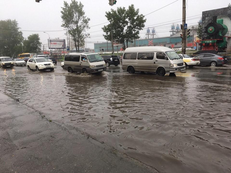 Хабаровск снова «поплыл» после дождя