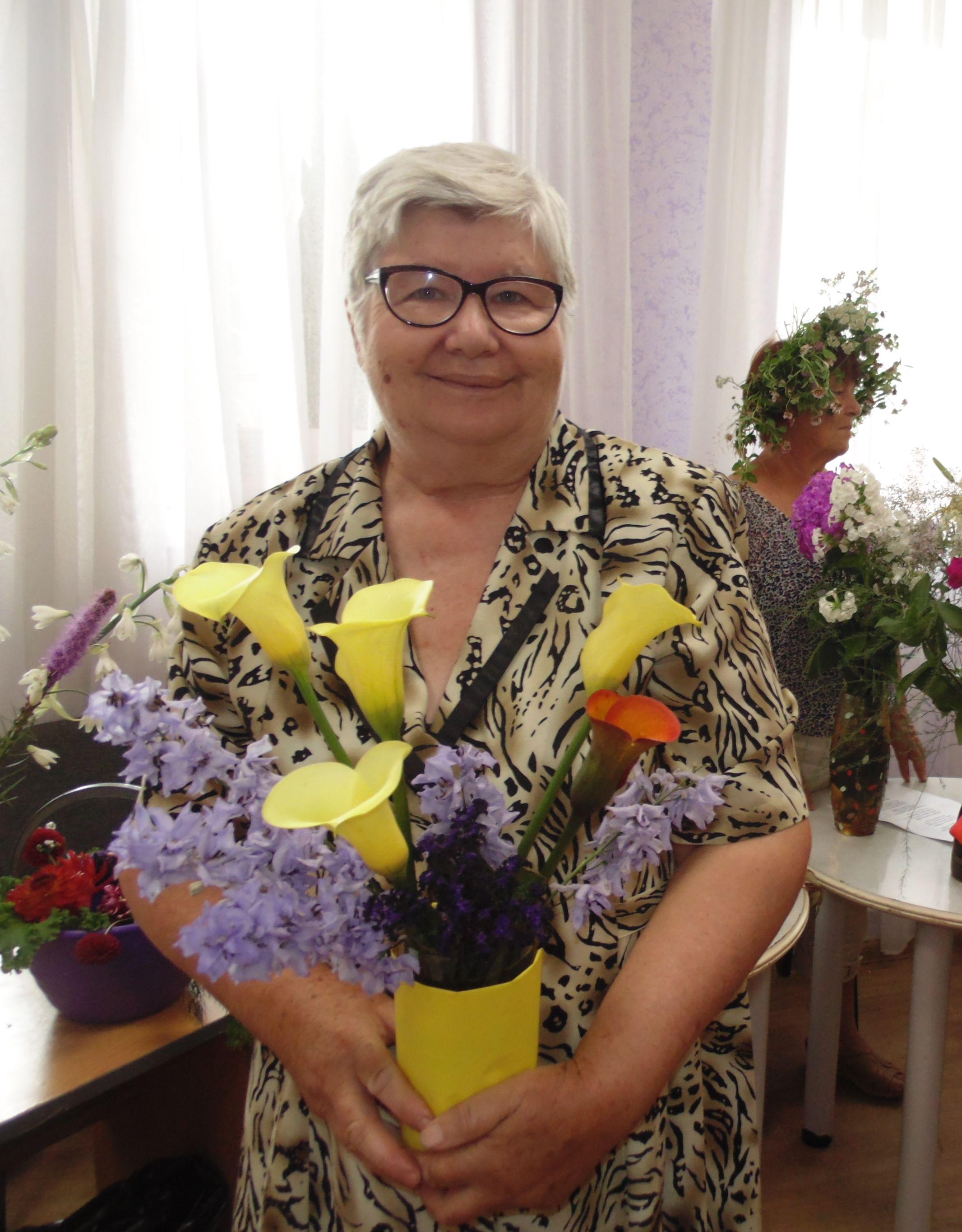 Выставка цветов Галина Синицына