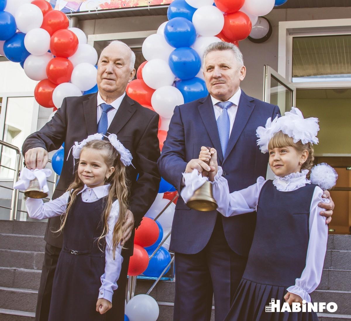 Первую смену хабаровским ученикам подарило второе здание школы № 37