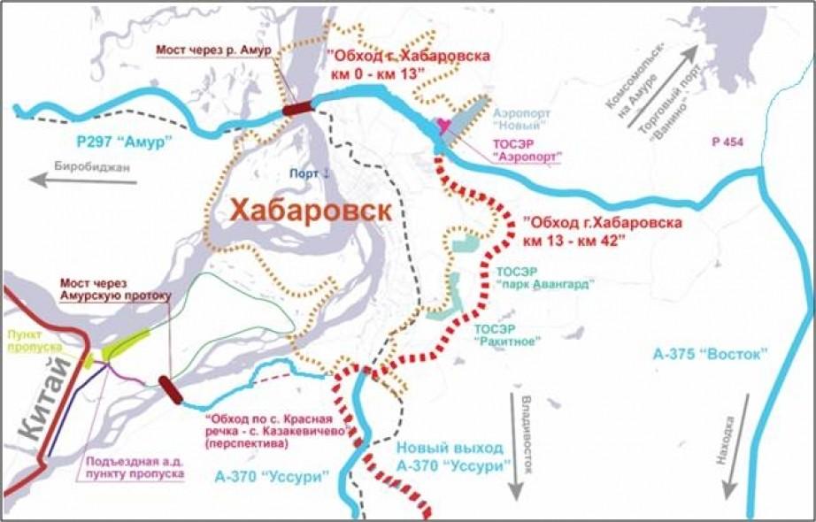 Хабаровск начнут обходить в сентябре